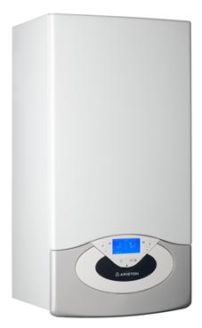 ARISTON GENUS PREMIUM EVO HP 45 FF EU solo calefacción con función auto top, display multifunción LCD 45 KW