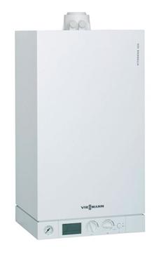 VIESSMANN VITODENS 100-W B1HA de 26 KW  con valvuleria y kit extrac.
